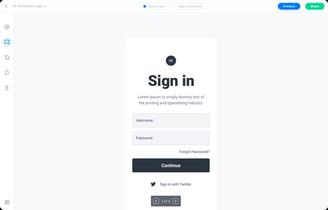 Free Mobile App Prototyping